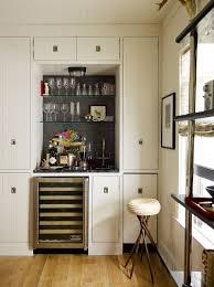 20 small home bar ideas and space savvy designs beach style home bar makes use of corner space design thom filicia