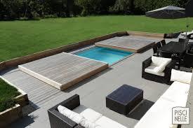 terrasse piscine mobile le rolling deck piscinelle jardim