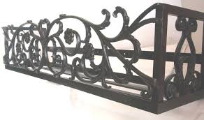 wrought iron wall planters window boxes