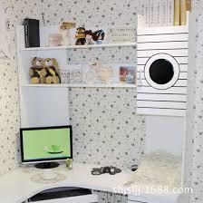Minimal Computer Desk by Minimalist Students Desktop Computer Desk Bookcase Shelf Small