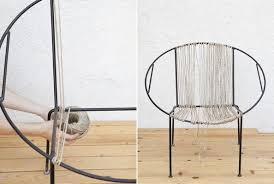 String Chair How To Restring A Chair Knit Wit Style Do It Yourself Projects