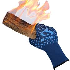 amazon com bluefire pro heat resistant gloves oven bbq
