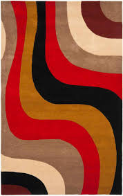 Orange Area Rug With White Swirls 218 Best Contemporary Rugs Images On Pinterest Contemporary Rugs