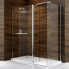 B Q Bathrooms Showers Cooke Lewis Cascata Rectangular Lh Shower Enclosure Tray
