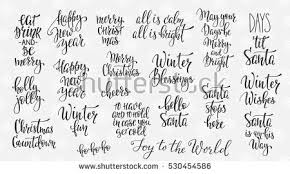 vector winter messages patterns free vector stock