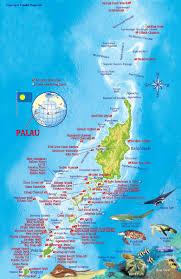 Micronesia Map Palau U2013 Micronesia U2039 Fotodive Photography