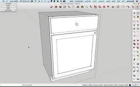 sketchup tutorial kitchen best hd sketchup tutorial build basic kitchen cabinet image