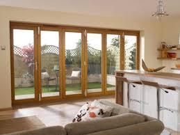 Wooden Bifold Patio Doors 4200mm 14ft 6 Door 5 1 Pattern Lpd Nuvu Oak Folding Patio