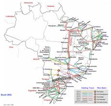 Grid Map Map Of Brazilian Electricity Grid Brazil National Energy Grids