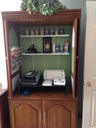 how to re purpose an old entertainment center snapguide