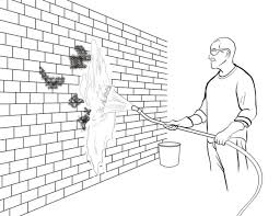 Clean Wall Stains by How To Clean Moss Off A Brick Wall Old House Restoration