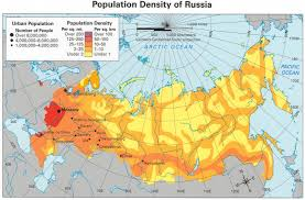 russia map by population population density of russia 2034x1336 mapporn