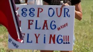 Battle Flags Of The Confederacy This Is Our Heritage U201d Confederate Flag Supporters Protest Ahead
