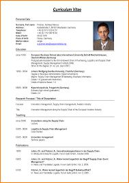 resume format pdf download cv exles pdf download cv format sle pdf curriculum vitae