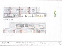 Floor Plan 3 Storey Commercial Building by Two Storey Commercial And Residential Building My Assessment 3