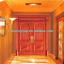 Wooden Main Door Bisini Solid Wooden Main Door Design Doors Interior Indian Main