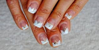 wedding nail art design classic v french manicure beginners easy