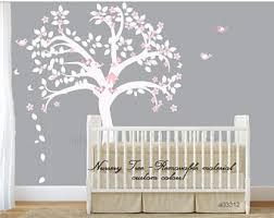 nursery tree decal etsy