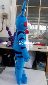 five nights at freddy s halloween horror nights toy bonnie mascot costume from five nights at freddy u0027s toy bonnie