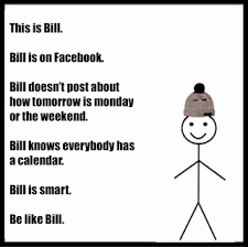 Grammar Meme Generator - 12 awesome pictures of be like bill meme generator template document