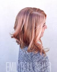 rose gold hair color inspiration popsugar beauty
