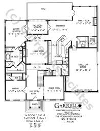 house plans with kitchen in front normandy manor house plan house plans by garrell associates inc