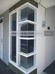 desain jendela kaca minimalis contoh desain kusen jendela sudut untuk tak rumah simple