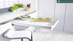 table cuisine escamotable tiroir topflex youtube