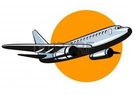 aircraft clipart cartoon pencil and in color aircraft clipart