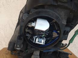 nissan 350z headlight covers factory oem 06 09 nissan 350z xenon hid headlight rh w projector
