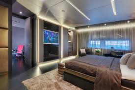 Yacht Bedroom by Giraud Luxury Charter Yacht Mediterranean Nyc
