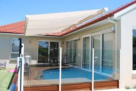 Awning Blinds Folding Arm Awnings Retractable Blinds And Awnings Custom Made