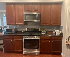 blue kitchen cabinets grey walls advice on what color to refinish paint my kitchen cabinets