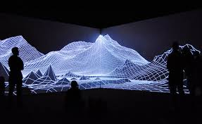 joanie lemercier light projection and 3d mapping 3d lights