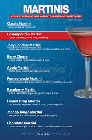 apple martini with cherry levity live menu west nyack dineries