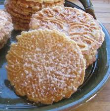 italian pizzelles recipe whats cooking america