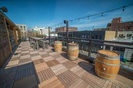 rooftop deck systems and buzon pedestals