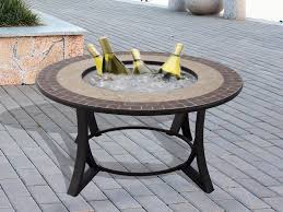 Firepit Dining Table by Best Fire Pit Tables Ideas