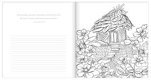 amazon com in his presence coloring book with journal