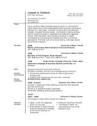 resume format for word microsoft resume format free top professional resume templates