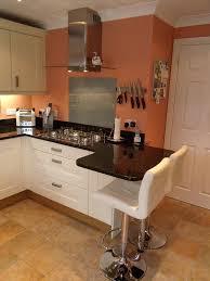 fine small kitchen design with breakfast bar on round designs ideas h