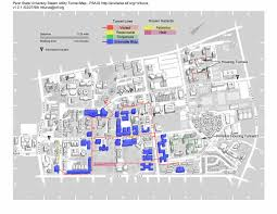Georgia State University Campus Map by Penn State U0027s Campus Beneath The Campus Onward State