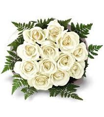 white roses for sale white roses bouquet 12 flowers supergift4u