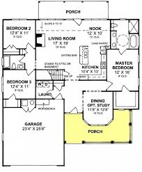 Open Floor Plan Country Homes 655852 1 Story Country Farmhouse 3 Bedroom 2 Bath With Open