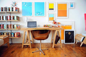 How To Decorate A Home Office On A Budget Easy U0026 Cheap Diy Tweaks To Make Your Home Office Less