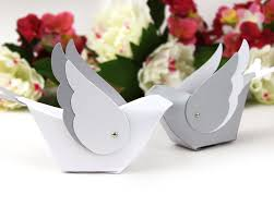wedding cake boxes for guests bird table decoration unique wedding favor box centerpiece