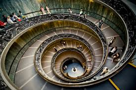 file spiral staircase in the vatican museums jpg wikimedia commons