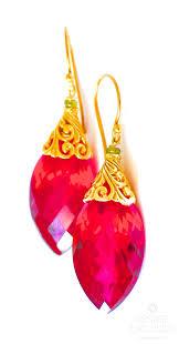 topaz earrings luxe topaz earrings christmas beauty renate exclusive