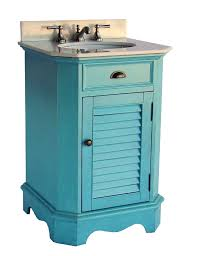 Cottage Style Vanity Adelina 24 Inch Cottage Style Bathroom Vanity Fully Assembled