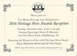 events u2014 mosby heritage area
